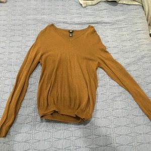 Men's small brown h&m sweater
